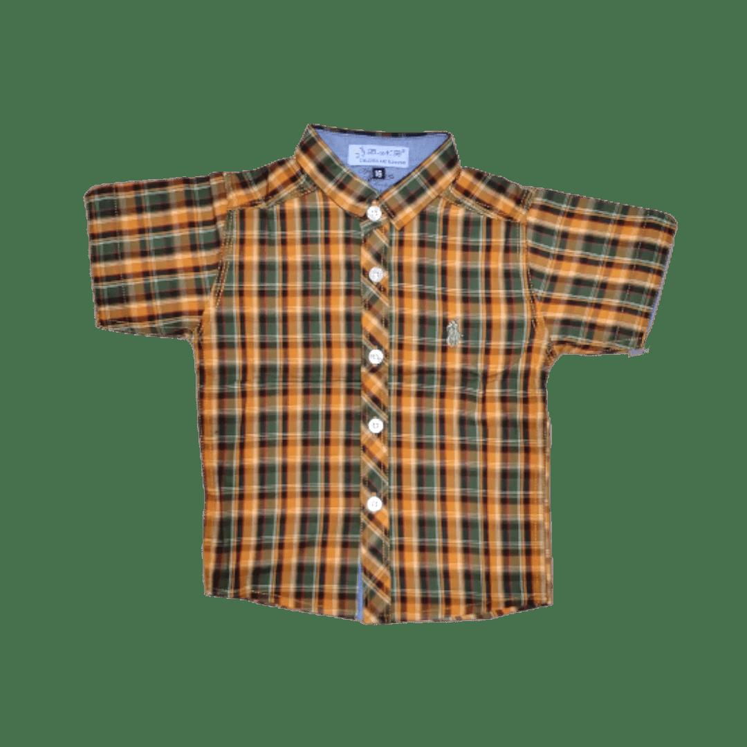 POLO Check (Brown)