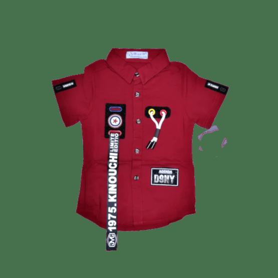 Kinouchi Shirt (Mehroon)