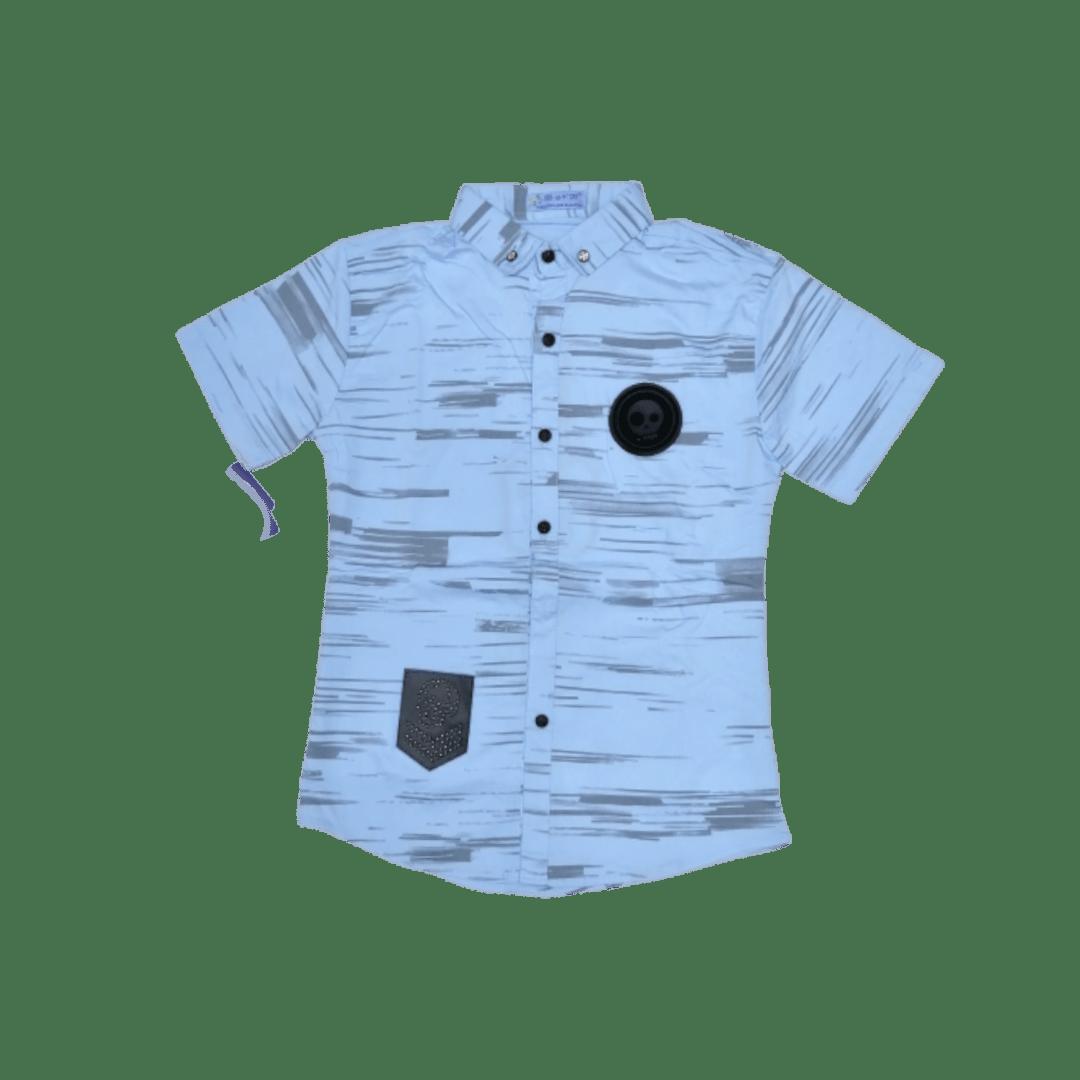 Skull Shirt (Sky)