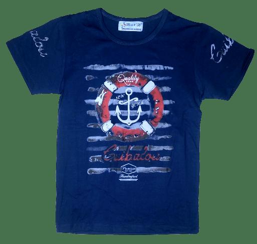 T-Shirt Quality (N.Blue)