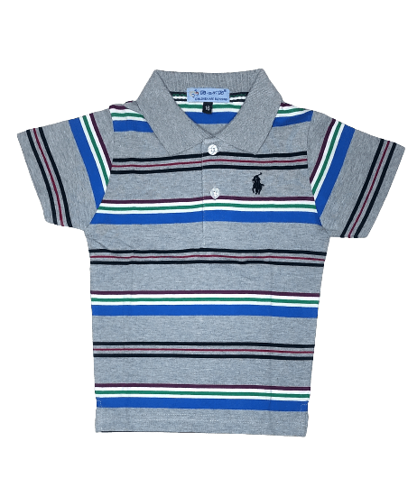T-Shirt Polo (Gray)