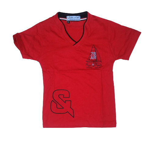 T-Shirt & (Red)