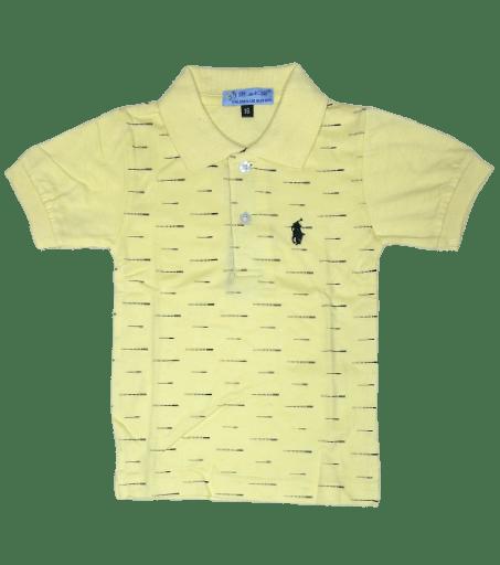 T-Shirt Polo (Yellow)