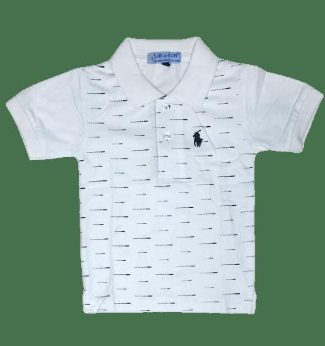 T-Shirt Polo (White)