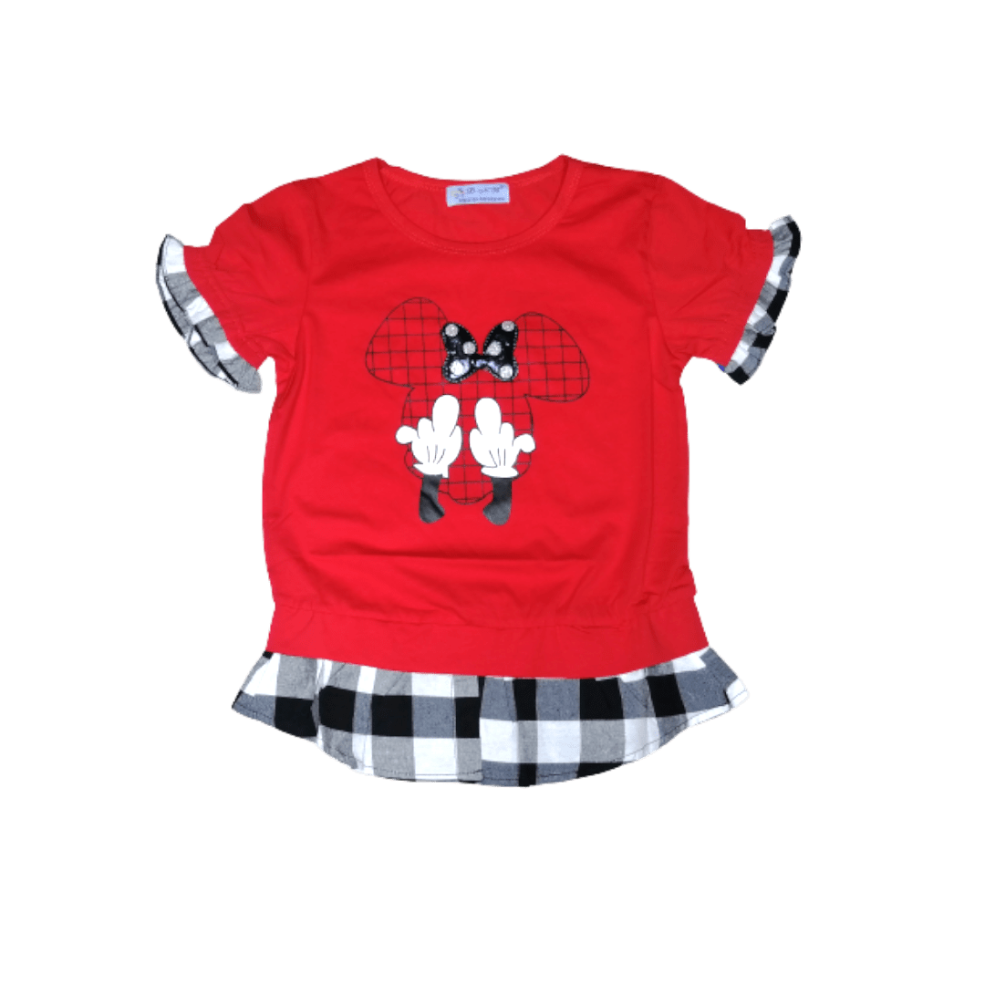 Micky Blouse (Red)
