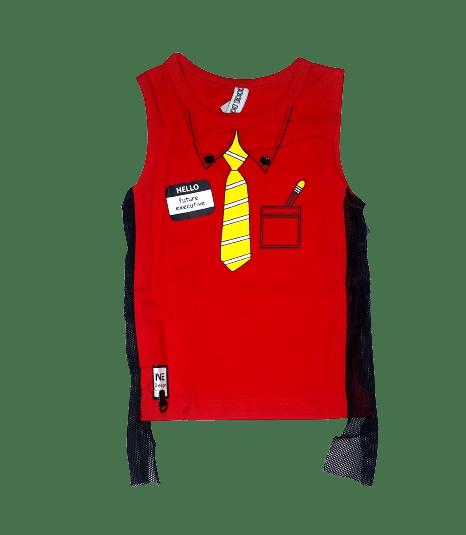 T-Shirt Tie (Red)