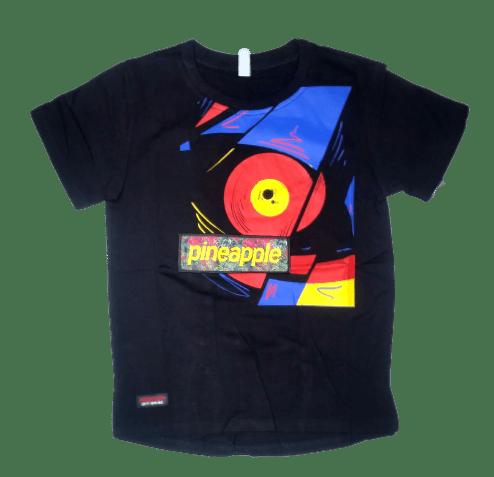 T-Shirt Pineapple (Black)
