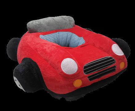Baby Car Stuff Seat ( Red )