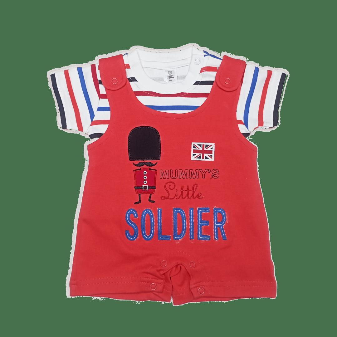 Toffy Solider Romper