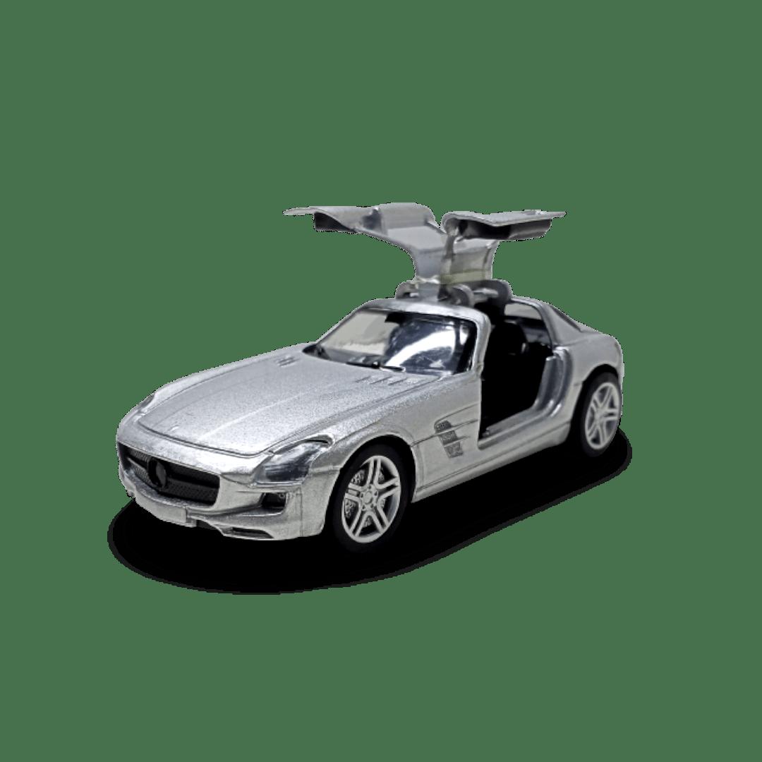 Metal Musical Dinky Car