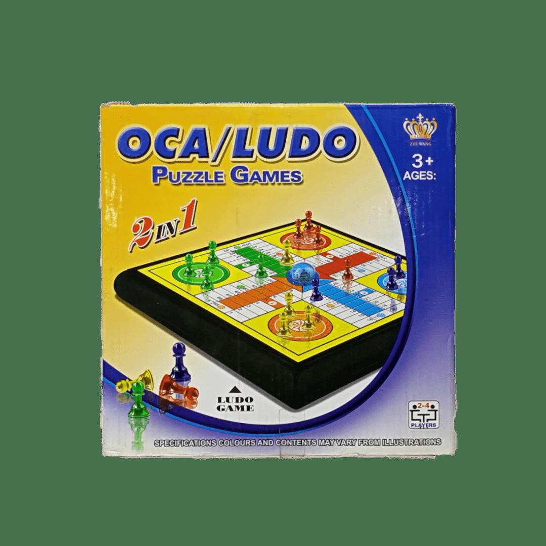 LUDO Game 2 in 1
