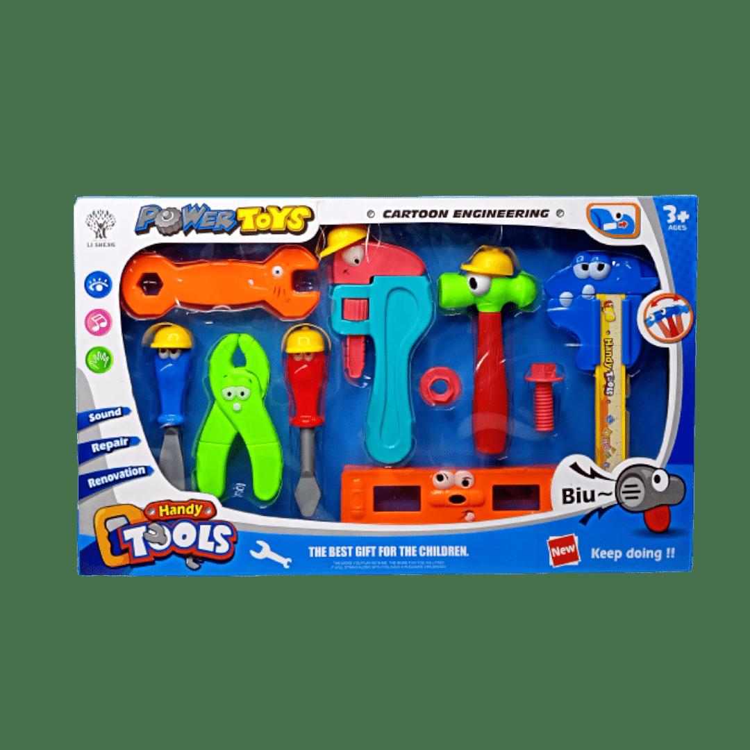 Power Toys Cartoon Engineering
