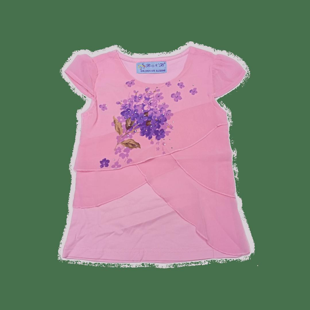 Girls Flower Blouse
