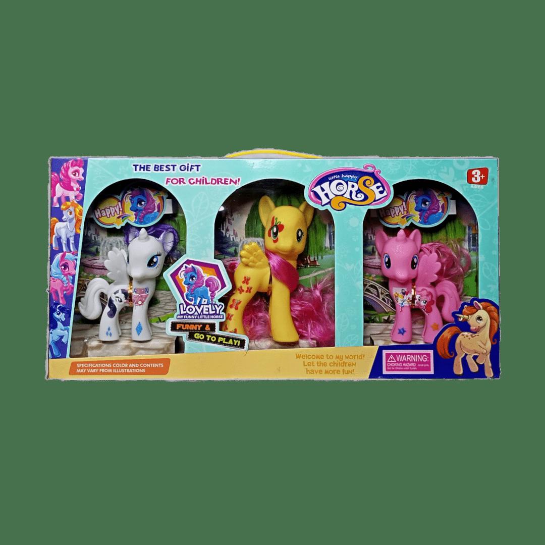 Little Happy Pony Horses