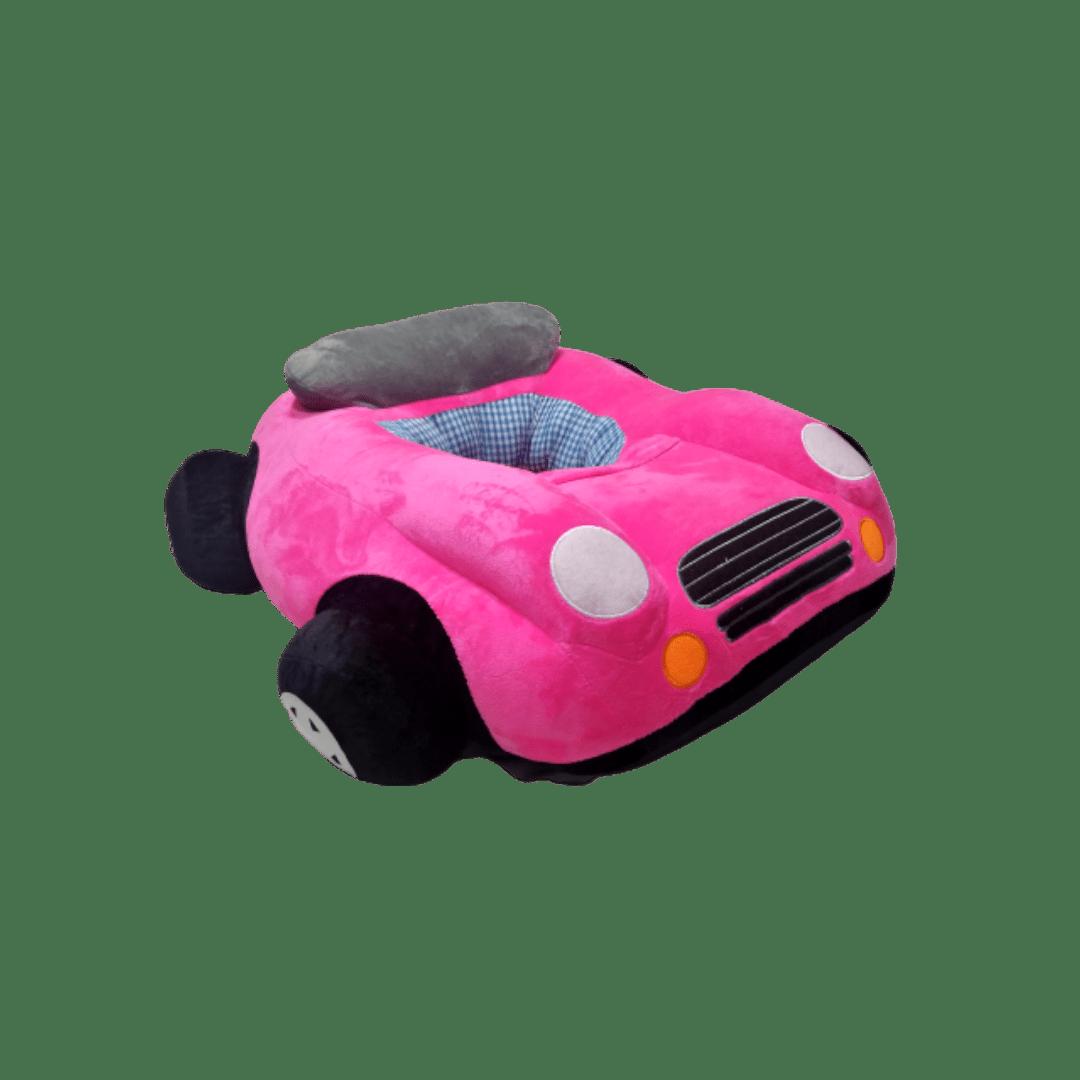 Baby Car Stuff Seat ( Pink )