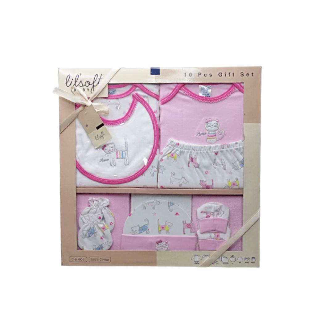 Lil'soft Baby Gift Set (10 Piece)