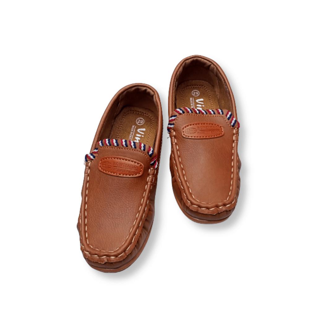Boys Shoes (Yellowish/Brown)