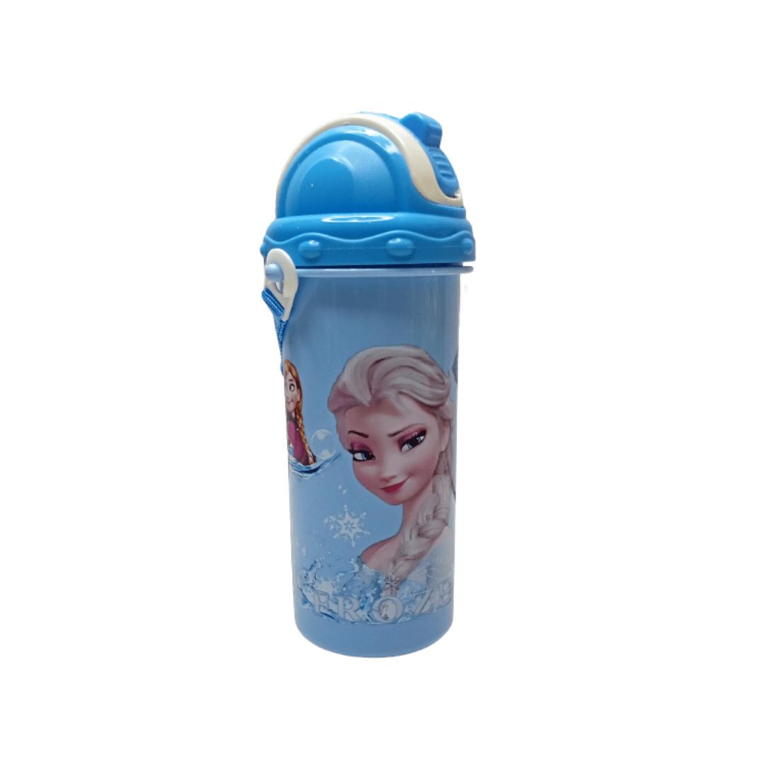 Kids Straw Water Bottle Frozen