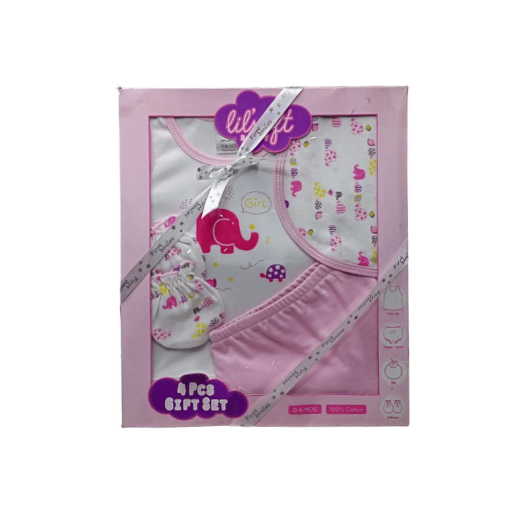 Lil'soft Baby Gift Set (4 Piece)