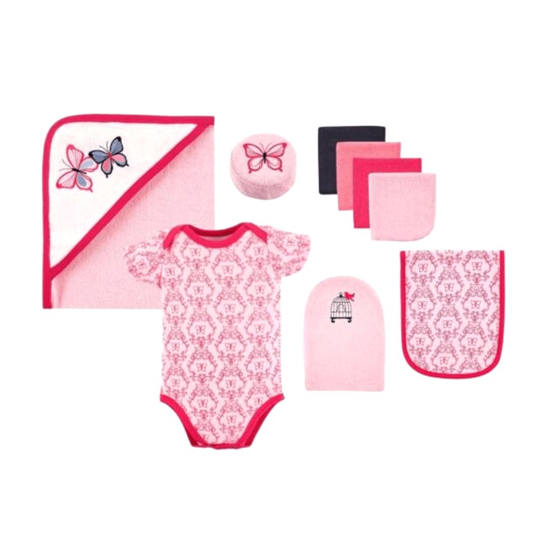Hudson Baby Gift Set (9 Piece)