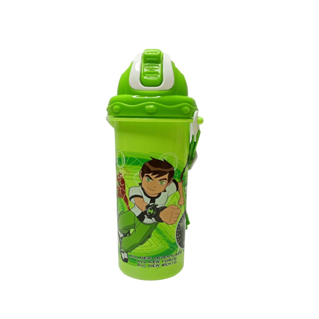 Kids Straw Water Bottle Ben 10
