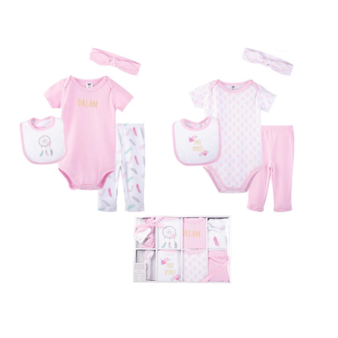 Hudson Baby Gift Set (8 Piece)