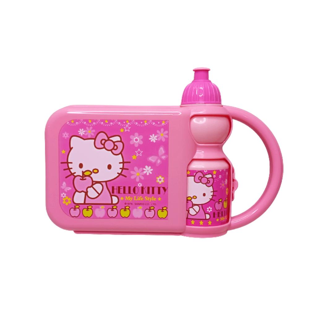 Kids Lunch Set Box Hello Kitty