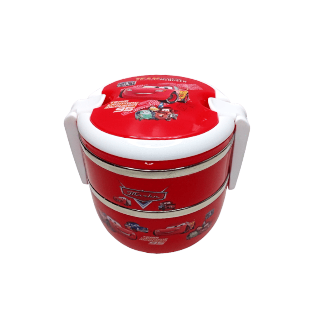 Kids Stainless Steel Lunch Box McQueen