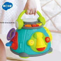 HOLA-TOYS-3119-Baby-Music-Drum-Toys-Learning-Development-Musical-Keyboard-Piano-for-children-gifts