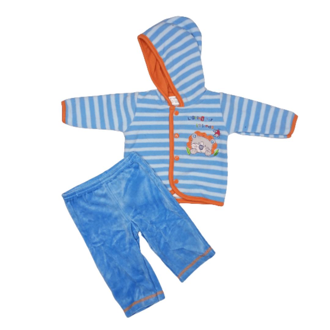 Mon Boy Pajama Suit Looking