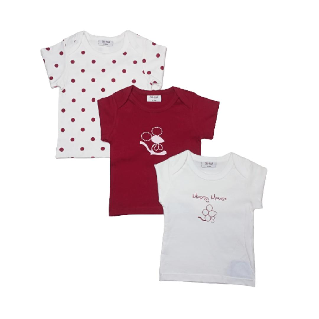 Wonder Child T-Shirt (Pack of 3)