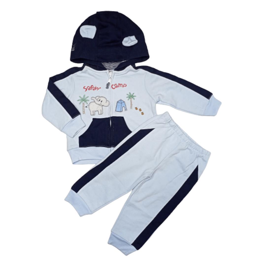 Carter's Boy Pajama Suit Safari