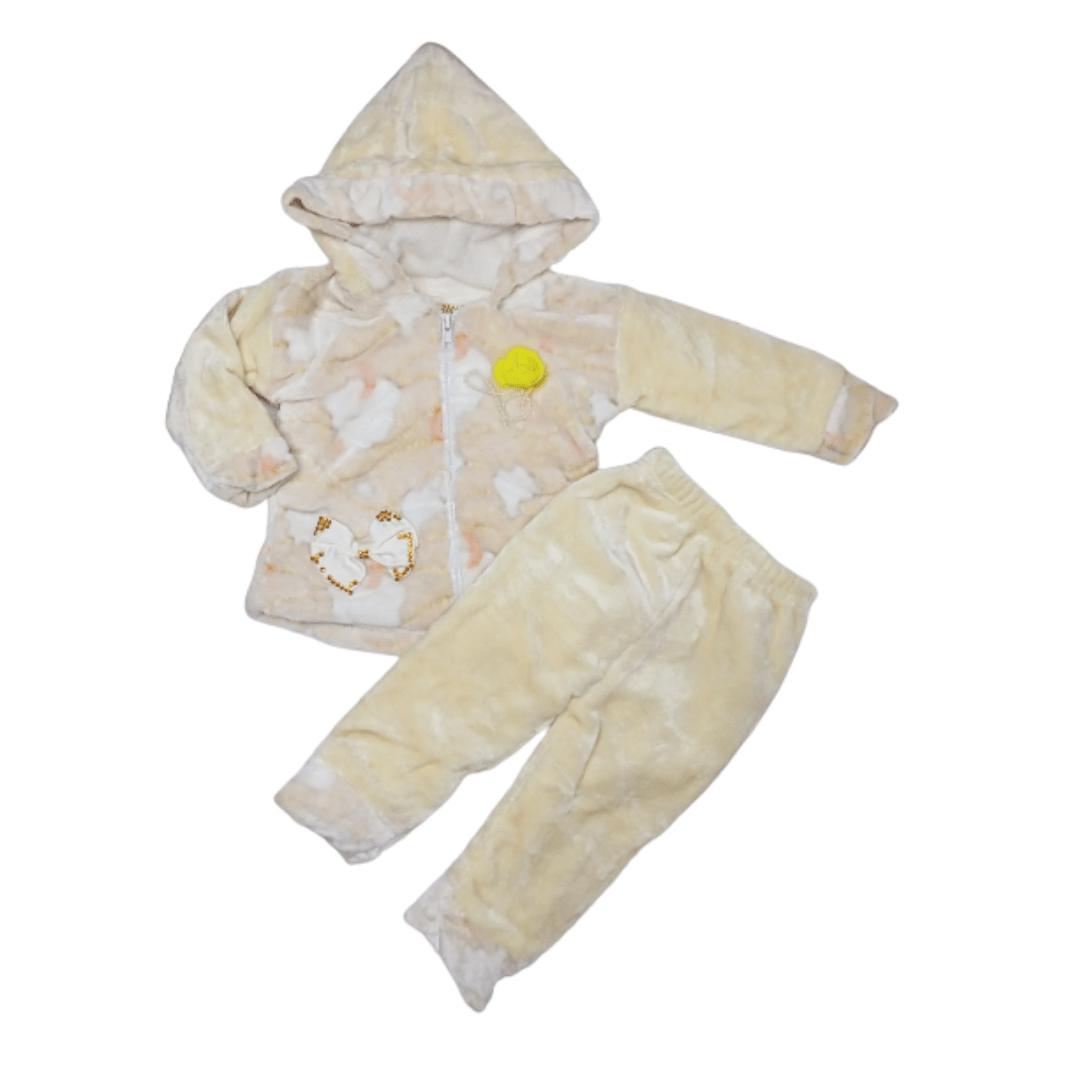 Girl Pajama Suit Flower