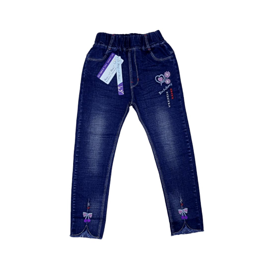 Girl Jeans Flower
