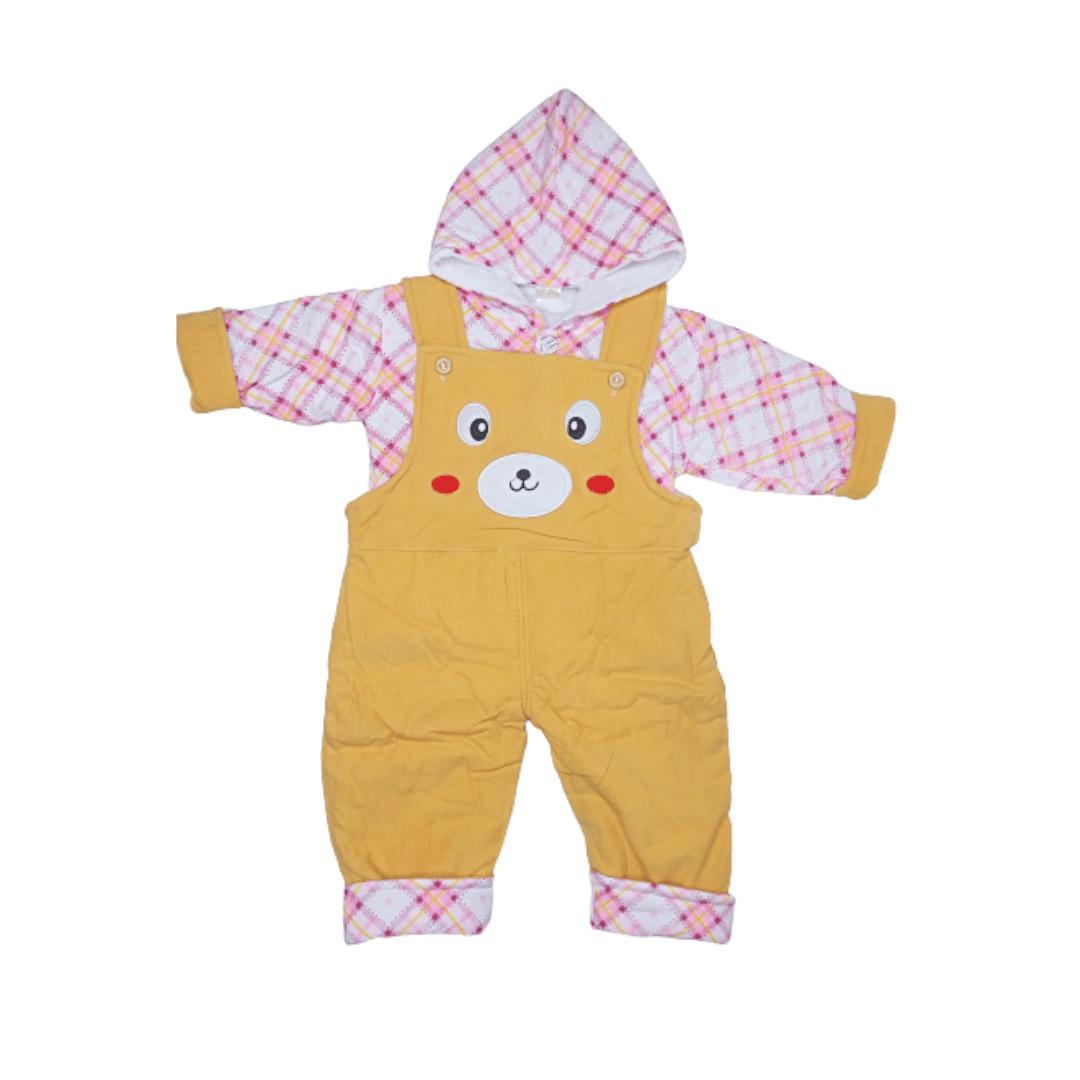 Baby Winter Romper & Jumper-Suit Hood