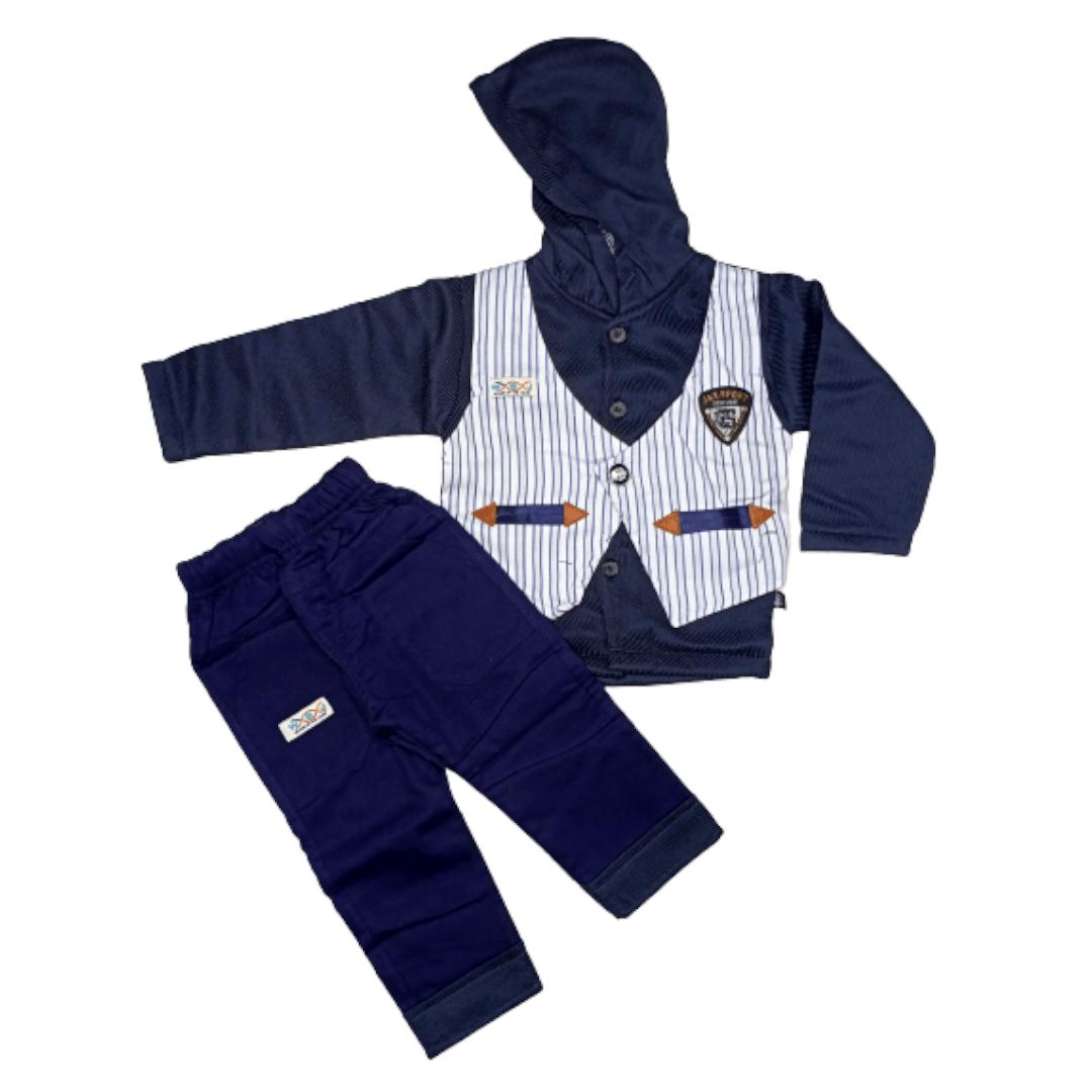 Boy Pajama Suit V/Coat