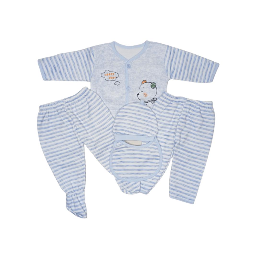 Baby Winter Pajama Suit Set Thailand (5 in 1)