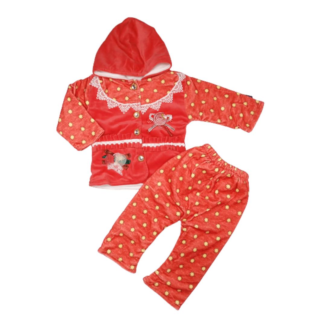 Little Girl Pajama Suit Star