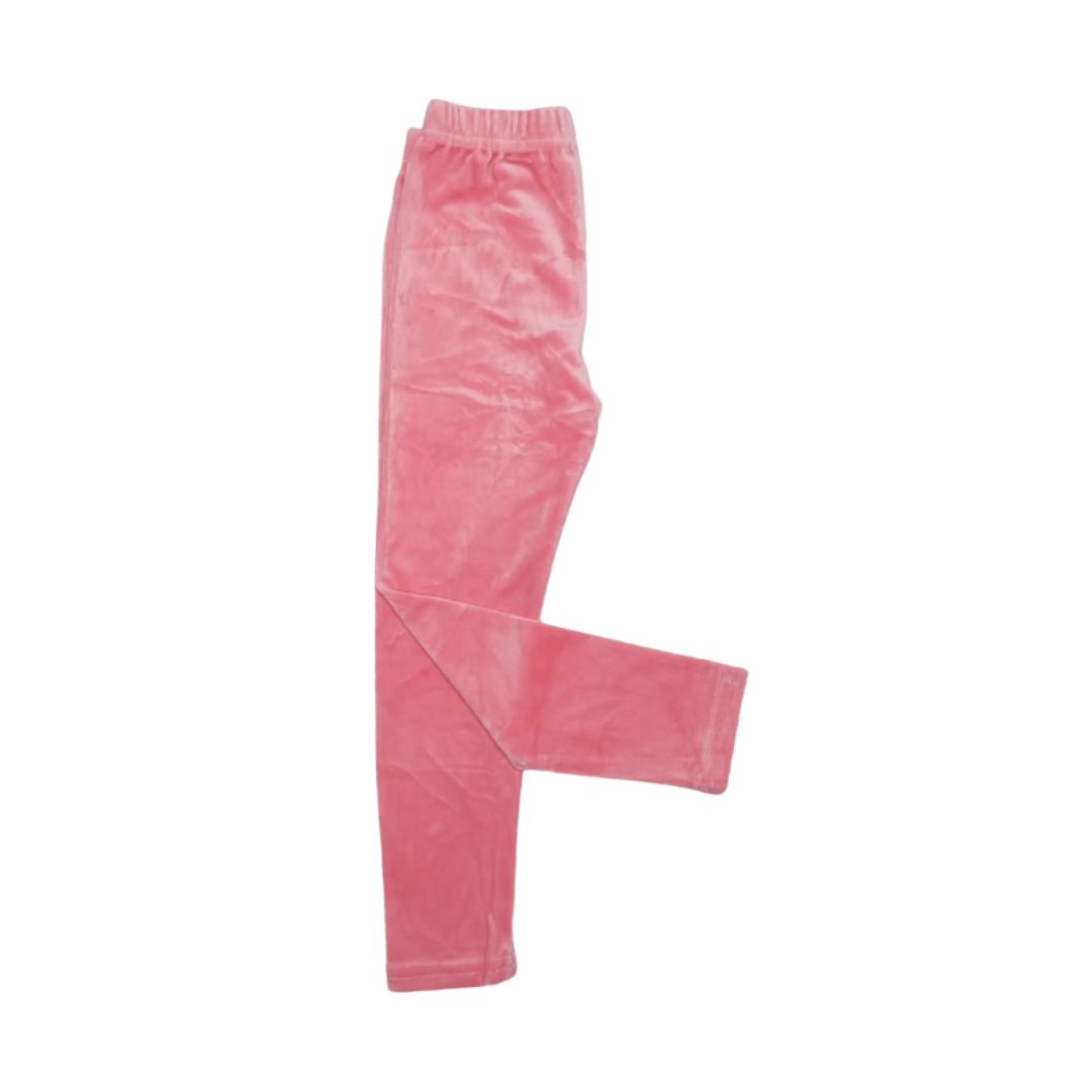 Premium Velour Tight (Pink)