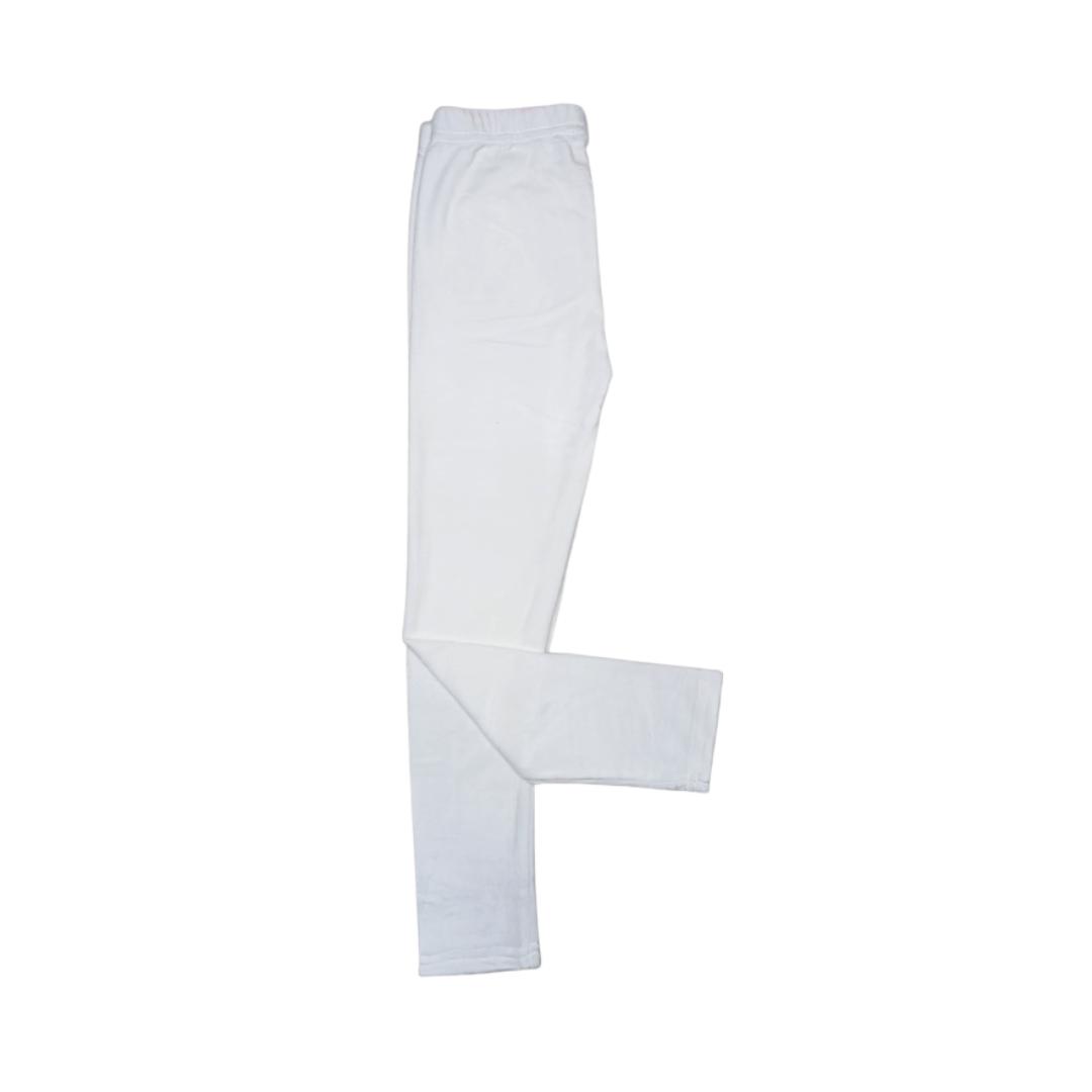 Premium Velour Tight (White)