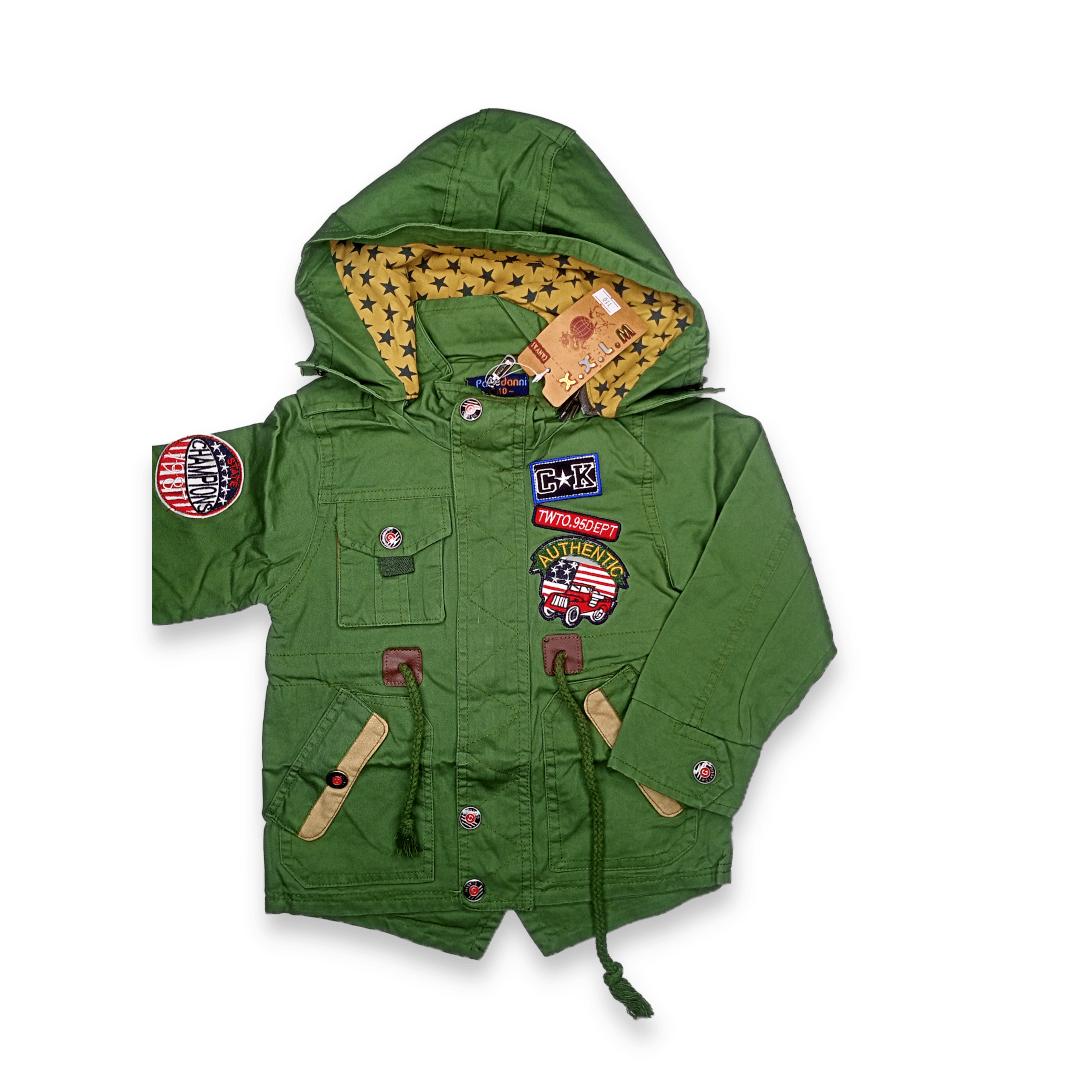 Kids Imported Jacket Hood ( Zipper Cap )